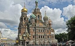 جاذبه های توریستی کلیسای ناجی بر خون ریخته شده، سنت پترزبورگ، روسیه