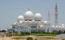 جاذبه های توریستی مسجد شیخ زاید، ابوظبی، امارات