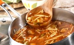 طرز تهیه سوپ اسپاگتی