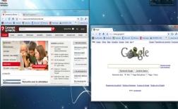 استفاده از کلید ویندوز و کلیدهای جهت برای Aero Snap در ویندوز7