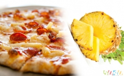 طرز تهیه پیتزا آناناس