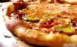 طرز تهیه پیتزا با خیار شور