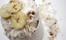 طرز تهیه بستنی با طعم موز