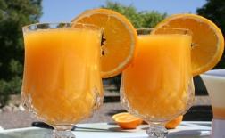طرز تهیه دسر آب پرتقال