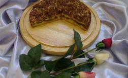 طرز تهیه کیک سیب کارامبل