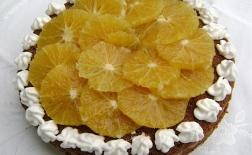 طرز تهیه کیک شکلاتی با طعم پرتقال