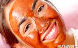 روش درست کردن ماسک صورت به وسیله گوجه فرنگی