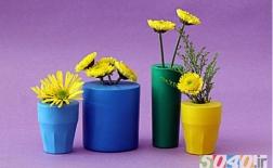 ساخت گلدان با بادکنک