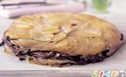 کیک قارچ و سیب زمینی