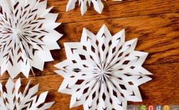 ساخت دانههای برف مدال شکل