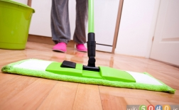تمیز کردن خانه در زمان بارداری