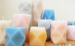 شمعهای هندسی