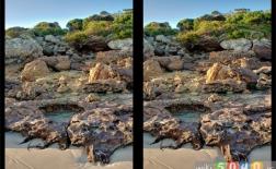 8 عکس سهبعدی چشمان متقاطع عالی و روش ساختن آنها