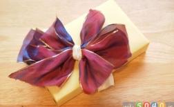 بستن پاپیون به شکل گل