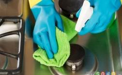 روش تمیز کردن اجاقگاز