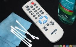 روش تمیز کردن کنترل تلویزیون