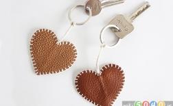 روش ساخت جاکلیدی به شکل قلب
