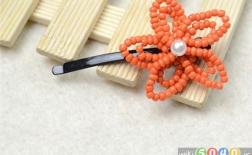 روش درست کردن گیرهی مو به شکل گل