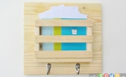 ساخت جعبه نامه با چوب