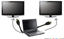 اتصال دو مانیتور در ویندوز 7 و 8