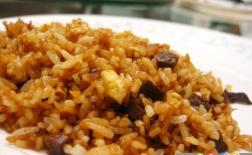 برنج سرخ شده با مرغ