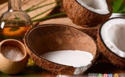 10 خاصیت شگفت انگیز شیرنارگیل برای پوست و مو