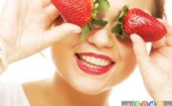 دستور انواع ماسک صورت توت فرنگی