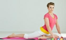 تمرینات یوگا برای یک خواب راحت