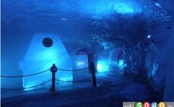 زیباترین غارهای یخی جهان