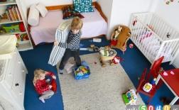 آموزش تمیز کردن اتاق به کودکان