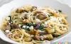دستور پخت ماکارونی با بادمجان، پنیر فتا، و نعناع
