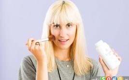 استفاده از پودربچه در آرایش