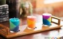 ساخت شمعهای رنگارنگ