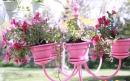 ساخت گلدان آویز با لوستر