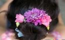 ساخت حلقه گل برای تزیین مو