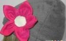 دوخت کلاه گل دار