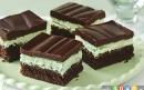 کیک بستنی شکلاتی نعنایی
