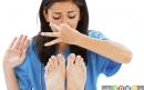 راه های خانگی برای رهایی از بوی بد پا 2