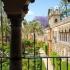 جاذبه های توریستی قلعه آلکازار، سویل، اسپانیا
