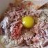 طرز تهیه مخلوط گوشت و تخم مرغ