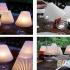 ساخت آباژور تزیینی با لیوان