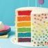 روش تهیه کیک رنگین کمانی