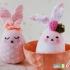 دوخت عروسک خرگوش با جوراب