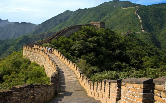 جاذبه های توریستی معروف دنیا - دیوار بزرگ چین