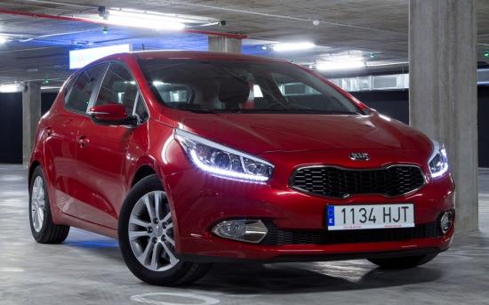 کیا مدل سید سال 2012/Kia Ceed 1.6 CRDi 2012