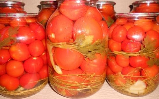 طرز تهیه ترشی گوجه فرنگی