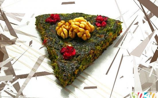 طرز تهیه کوکو سبزی 1