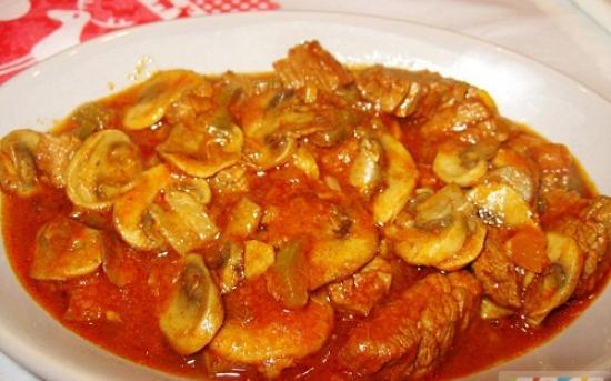 طرز تهیه خورشت قارچ و سبزیجات