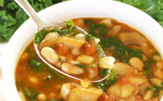 طرز تهیه سوپ لوبیا سفید