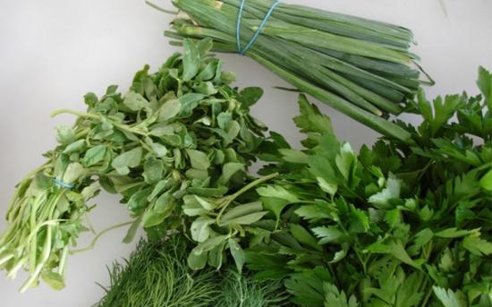 دانستنی های سبزی